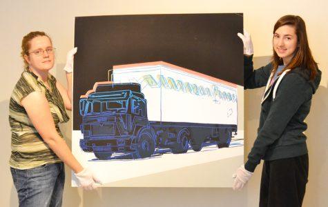 Sitting Bull, queens, a truck: Warhol art arrives