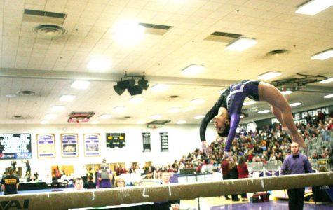 Gymnastics: Lady 'Hawks go for gold