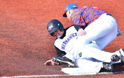 Baseball: Warhawks split series with Stout