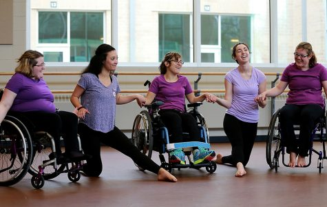 Wheelchair dance: Taking the leap
