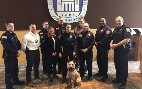 UW-W police services swears in newest officer