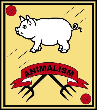 Savage animals portray human nature
