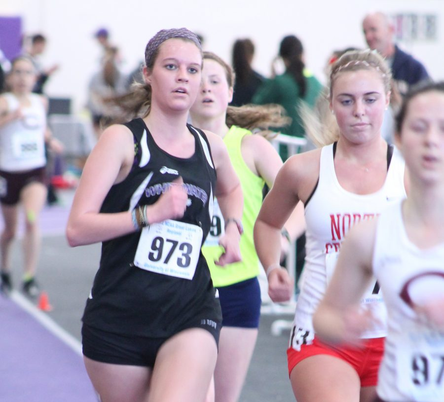Women's Track Takes Second at Warhawk Classic