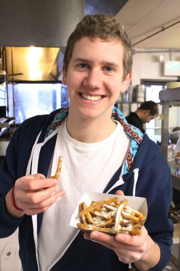 Student entrepreneur starts Studs and Spuds