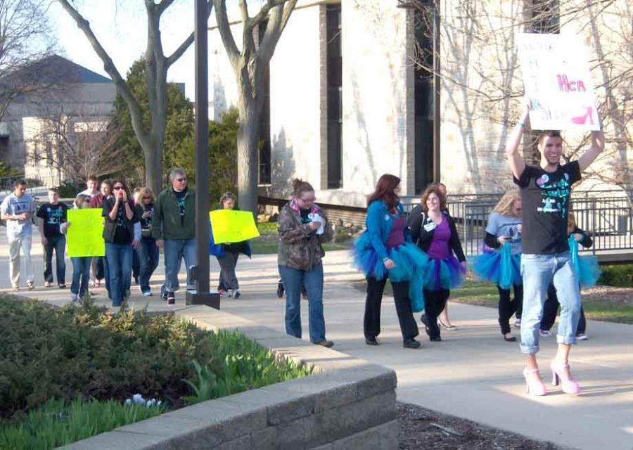 Wearing heels for hope: Walk A Mile In Her Shoes promotes sexual assault awareness