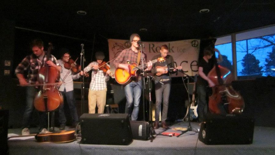 Student groups team up for benefit concert