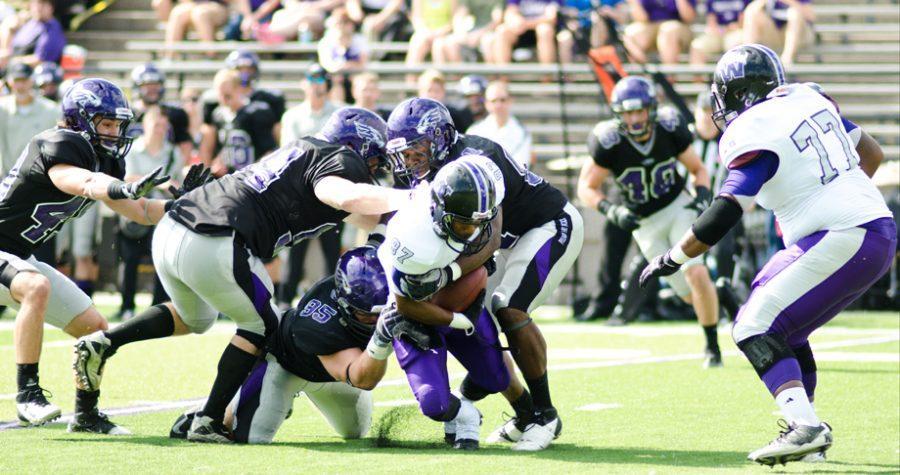 Football: Warhawks win, set records