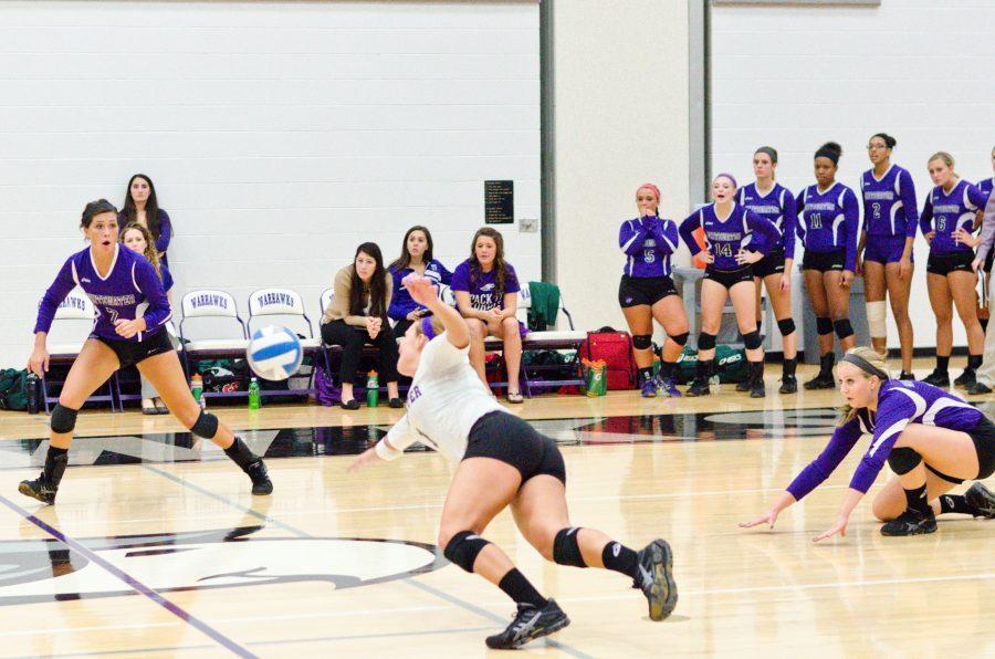 Volleyball: `Hawks go 2-2 in Invite