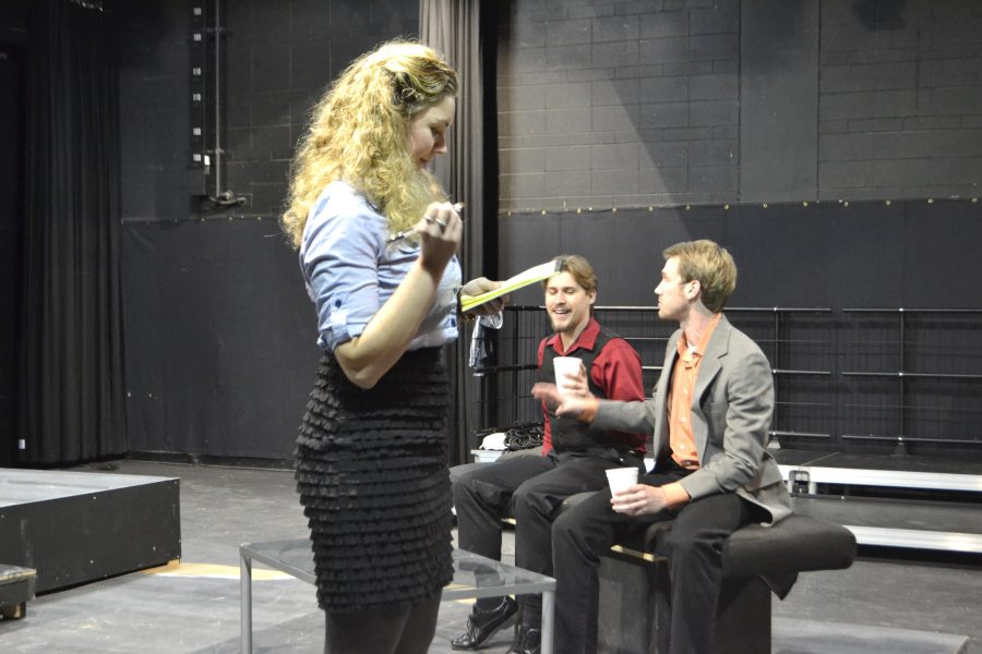 Students arrange entire theater production