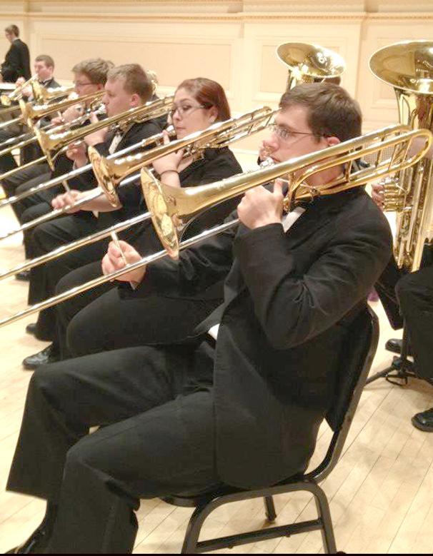 Senior readies for recital