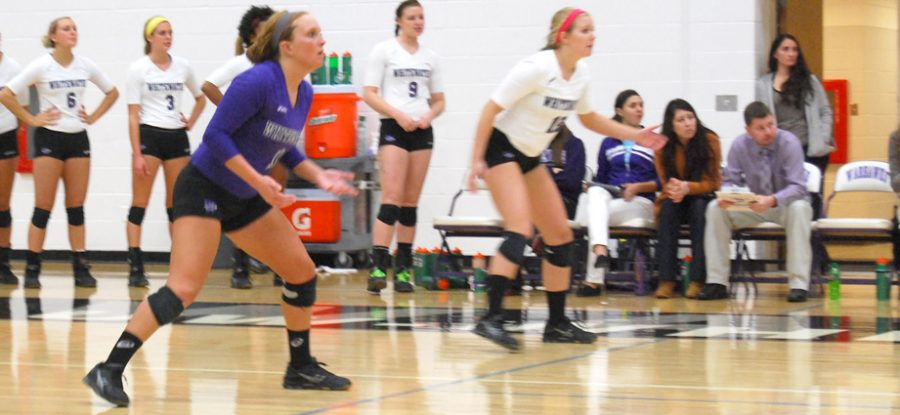 Volleyball: Netters enter tourney as No. 3 seed