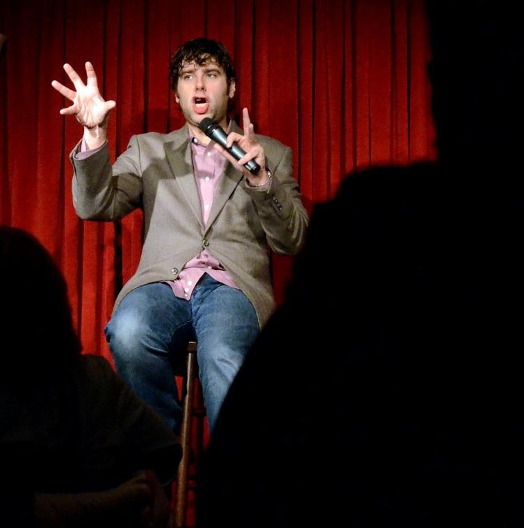 Comedian moves from classroom to stage