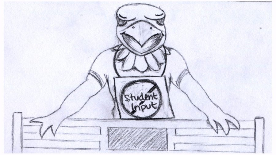 Creation of statue lacked student input