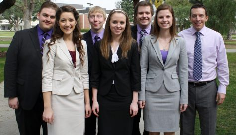 UW-Whitewater Forensics Team shines in California