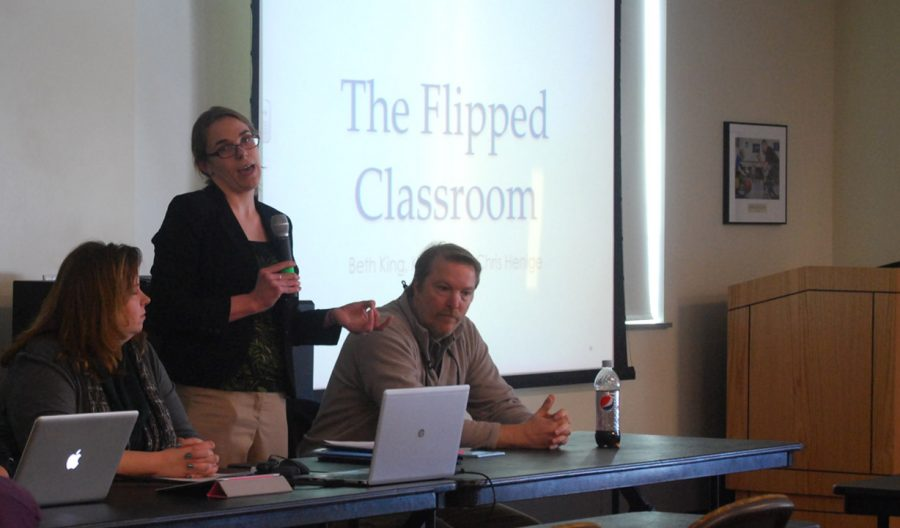 Flipped classroom forum challenges education