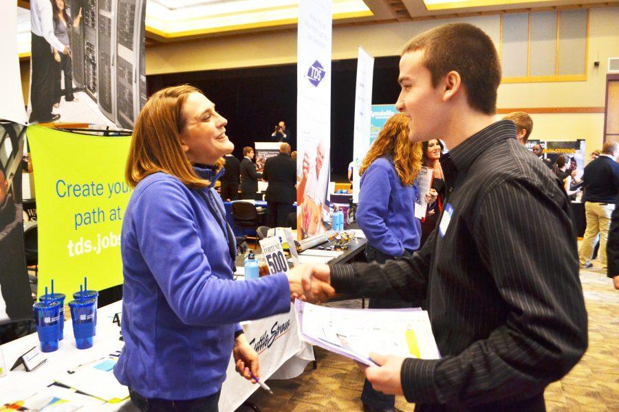 Career fair connects students, companies