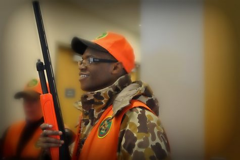 Hunting club trains students