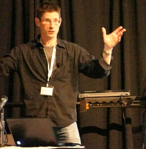 Keith Fuller was the 2013 keynote speaker at the Wisconsin Game Developers Summit at UW-Milwaukee.