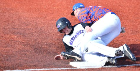 Baseball: Warhawks split series with Stout