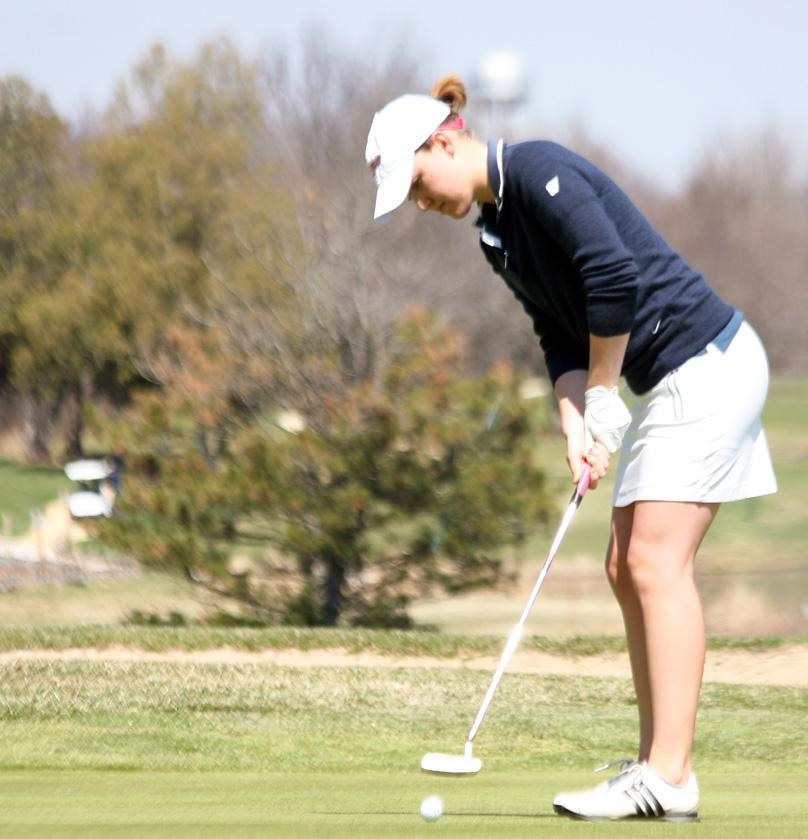 Women's Golf: Golfers near finish, second in Spring Fling