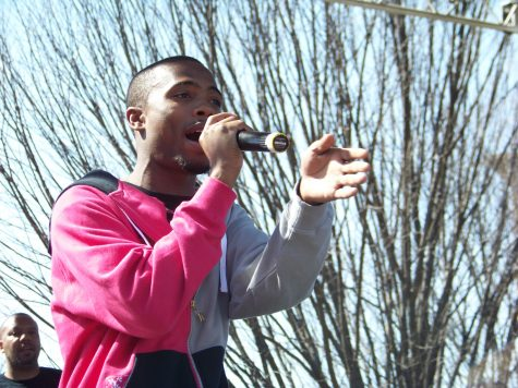 Hip-Hop artist B.o.B. kicks off Fall 2014 Semester