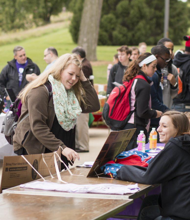 Involvement fair brings organizations together