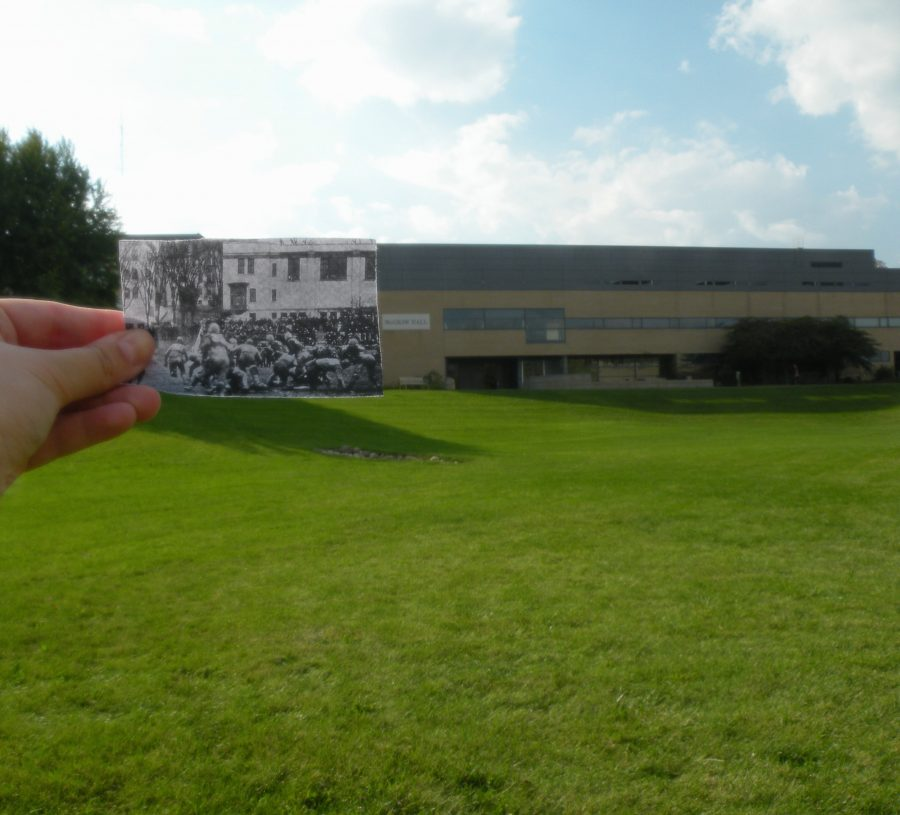 Green+space+compared+to+Hamilton+Gymnasium