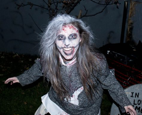 Haunted house offers frights for a purpose