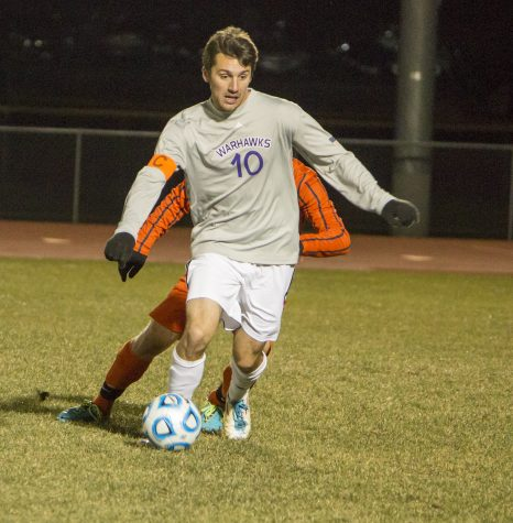 Men's soccer fall in round two
