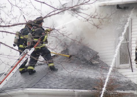 House fire wakes neighborhood