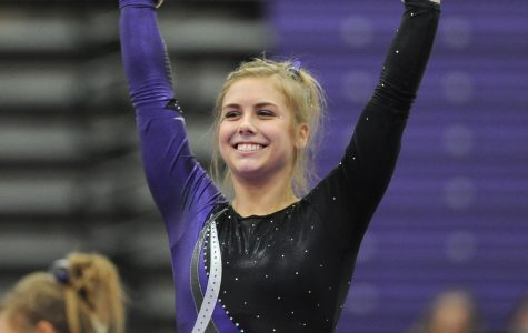 Young star leads gymnasts
