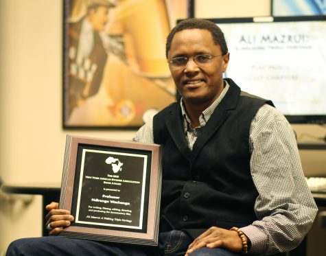 Professor recieves 2015 Book Award for documentary