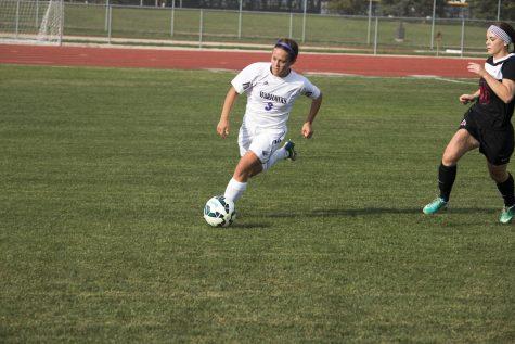 Sophomore midfielder Marie Lesperance