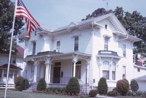 An old photo of the home at 1014 W. Main Street. Photo Courtesy of Wisconsin Historical Society