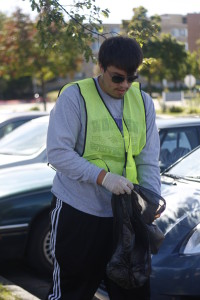 Campus cleanup, 10-2-15 041