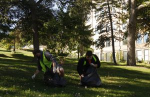 Campus cleanup, 10-2-15 072