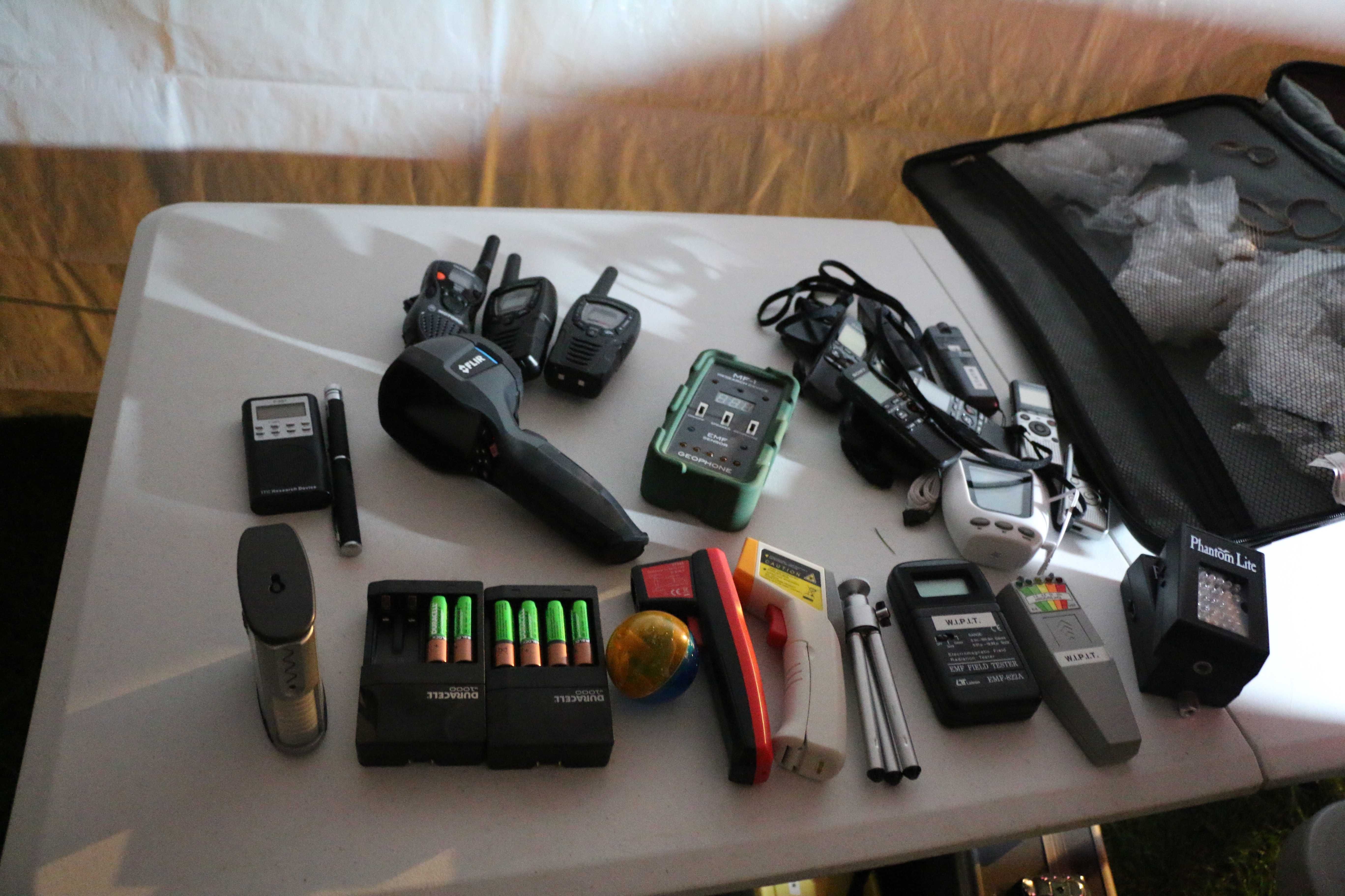 Equipment+used+by+WIPIT+to+track+paranormal+activity.+Photo+by+Amber+Levehagne