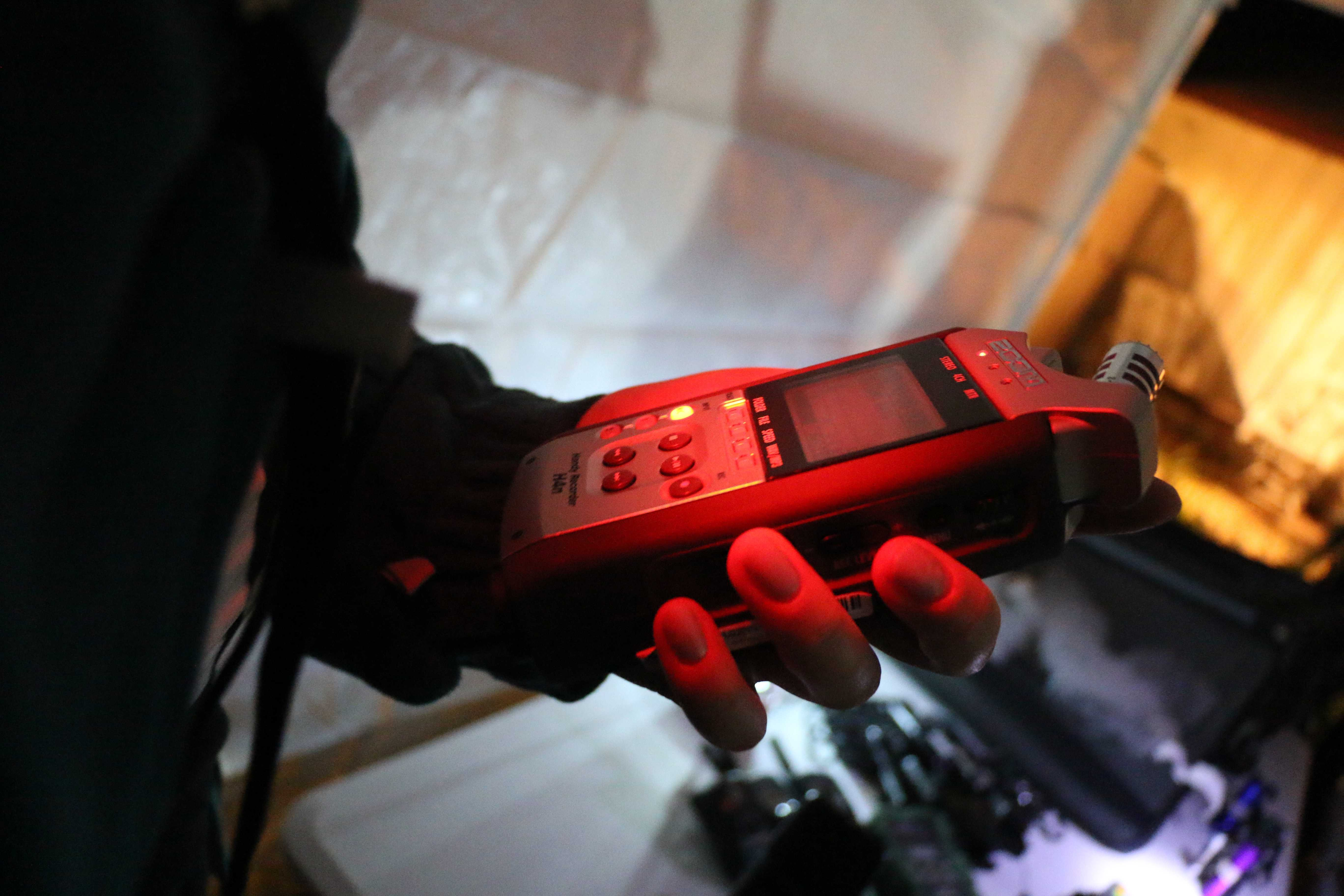 Equipment+used+by+WIPIT+to+track+paranormal+activity.+Photo+by+Amber+Levehagen