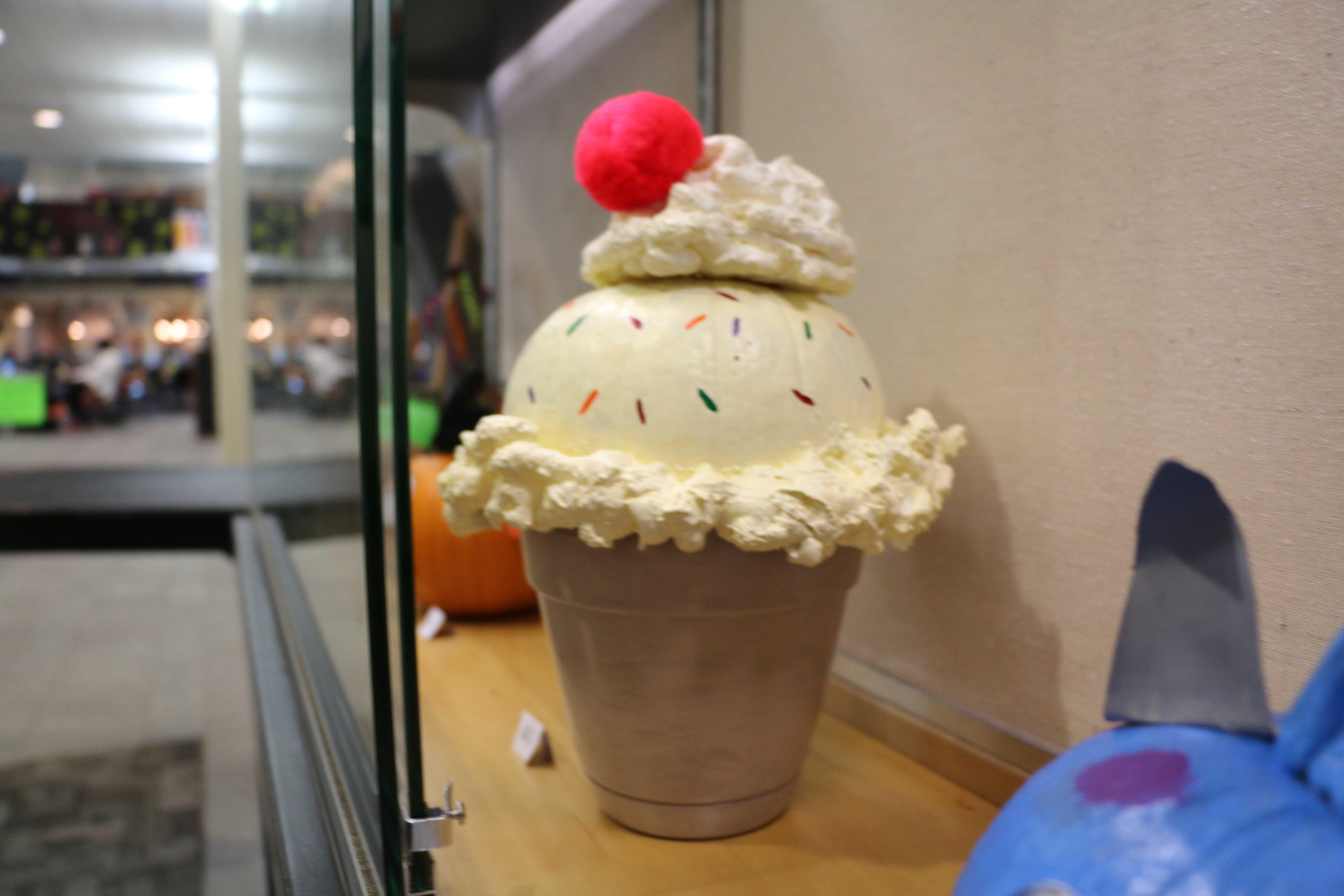 Jenny Musilek's winning pumpkin design.