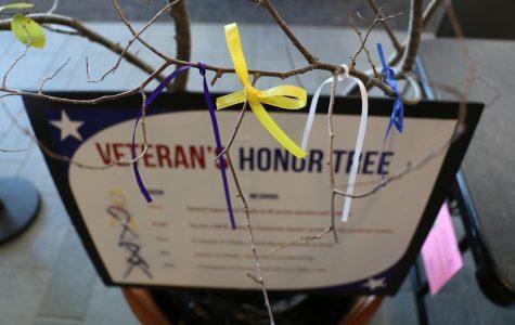 Veteran and active service members honored