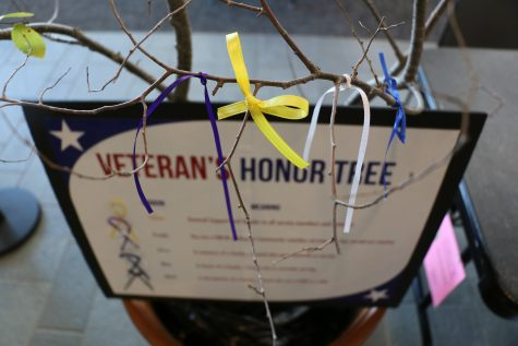 Veteran and active service members honored