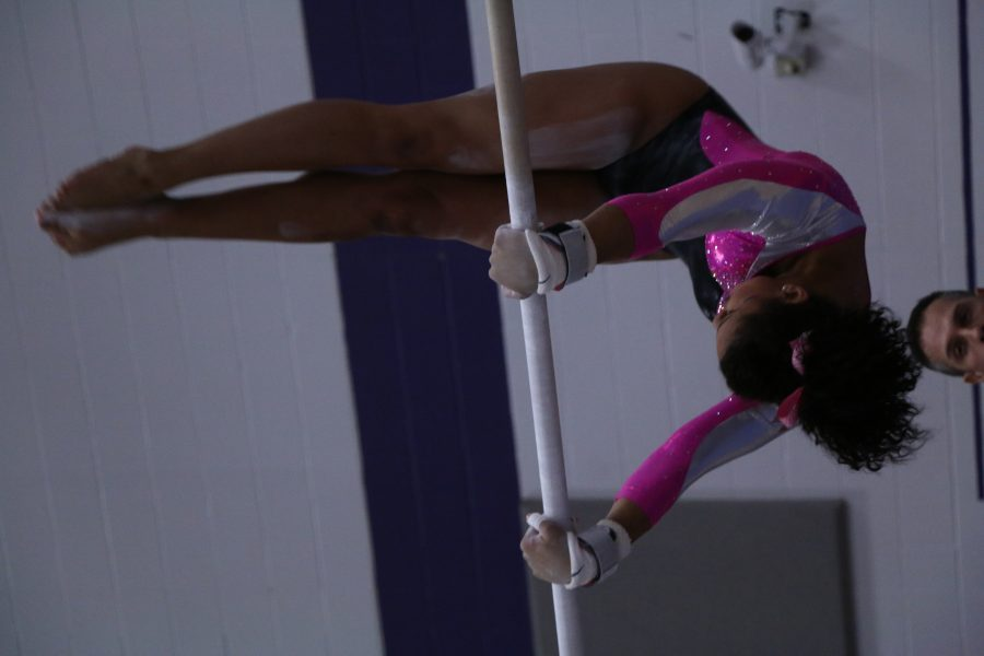 Gymnasts set records