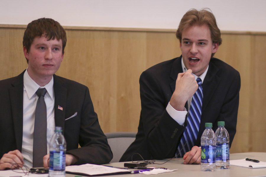 Debate between political orgs held before primary