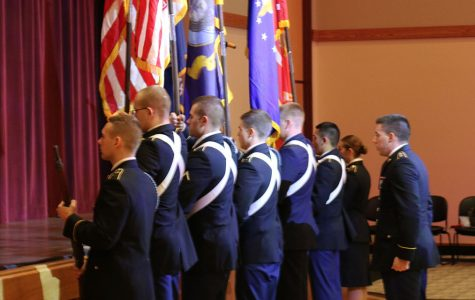 Military veterans honored in campus ceremony