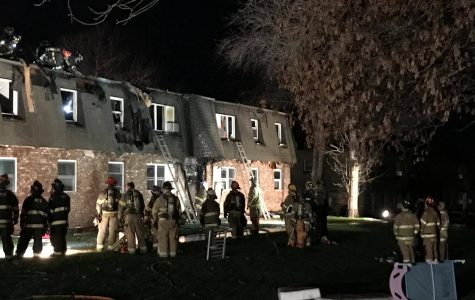 Fire breaks out at apartment complex near campus