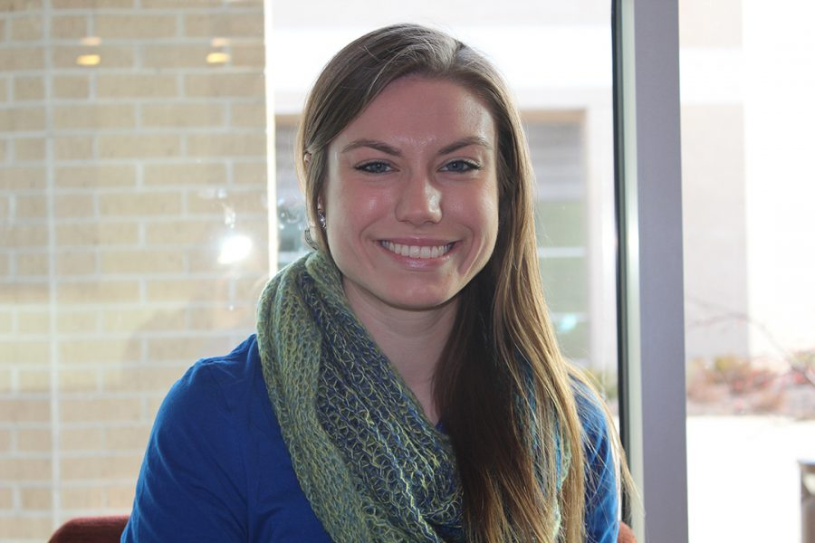 Jacqueline Schaefer, a psychology major, has been named the winter commencement speaker at the ceremony on Saturday, Dec. 17. After graduation, Schaefer says she hopes to attend medical school and enter the field of psychiatry.