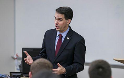 UW-W Republicans host Gov. Walker