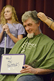 St. Baldrick's buzzes heads for childhood cancer