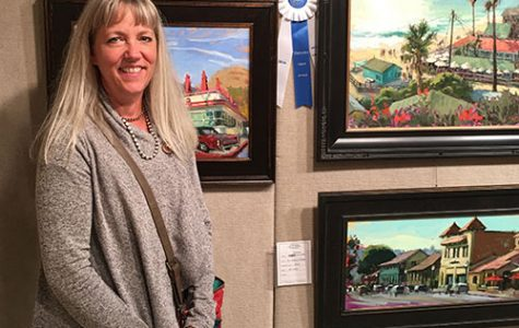 Renowned local artist exhibits on Main Street