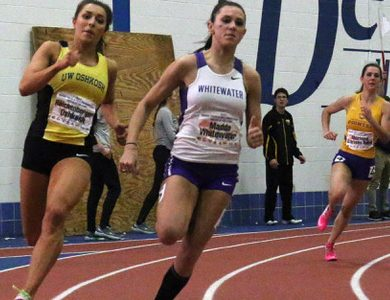 Track squad wins flurry of first places